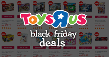This year's Black Friday savings from Toys 'R' Us