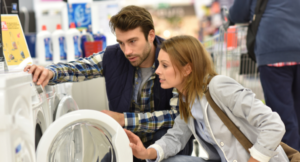 When is the best time to buy new appliances?
