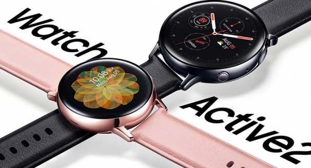 Features on the latest Samsung Galaxy Watch and Galaxy Watch Active