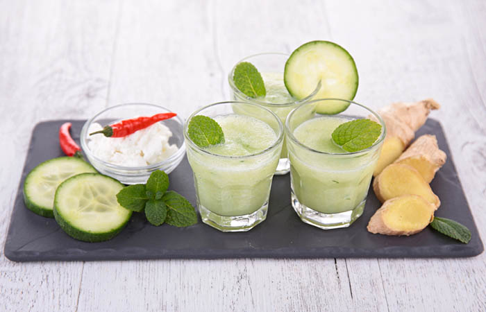 Cucumber and Ginger