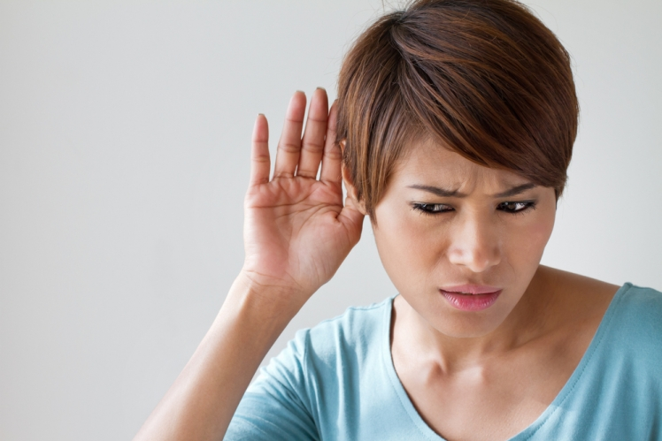 Overeatig reduces hearing
