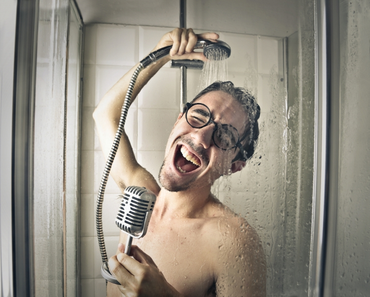 What's your favorite song to sing in the shower