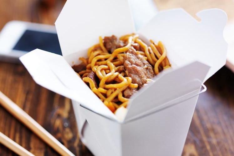 Take Out from Favourite Restaurant