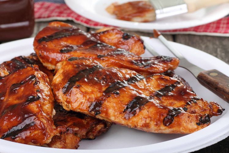 BBQ Skinless Chicken Breast