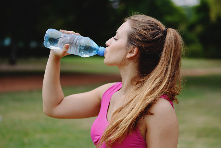 Not Hydrating Before Your Workout