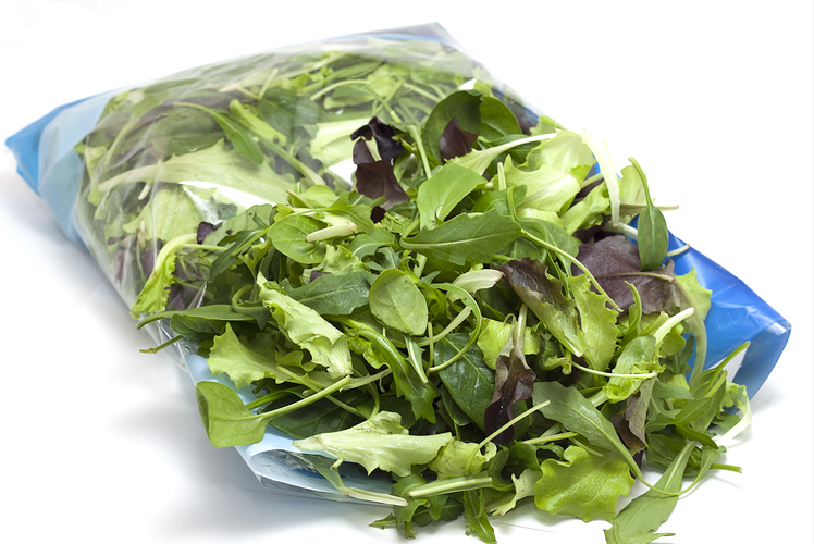 Bagged salad
