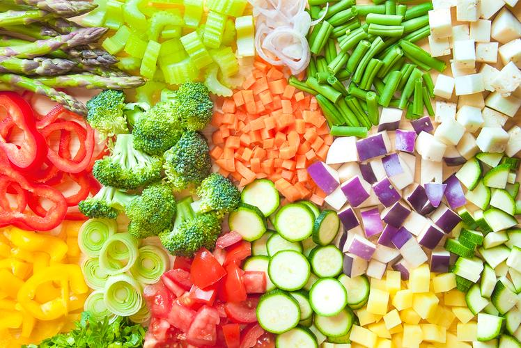 Pre-cut veggies