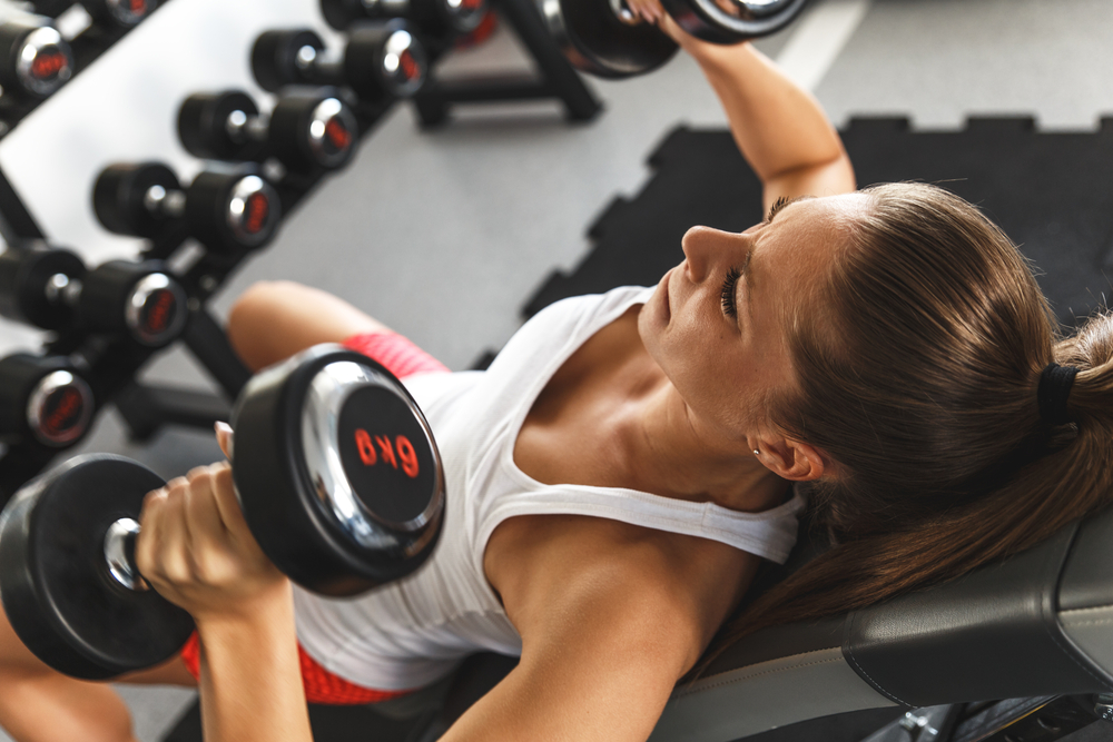 Lift some weights can help to boost your metabolism