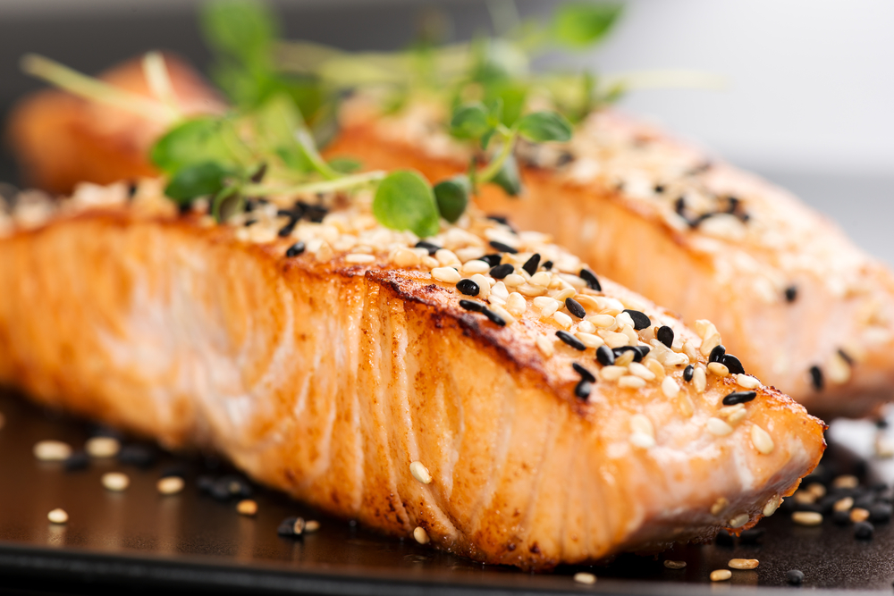 Salmon is one of the best Foods You Can Eat Before Bed