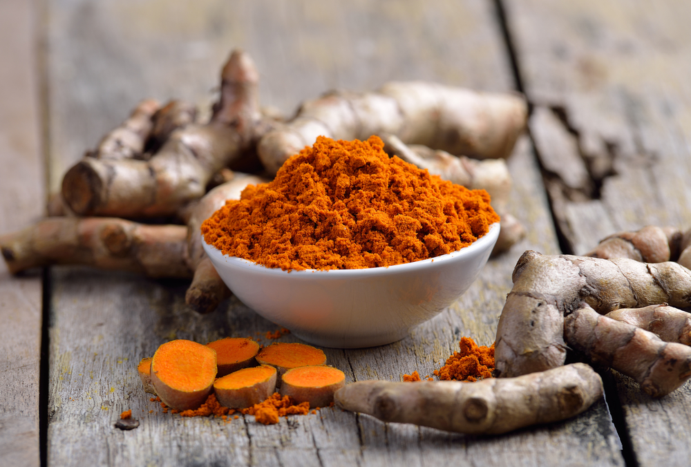 Cook with turmeric