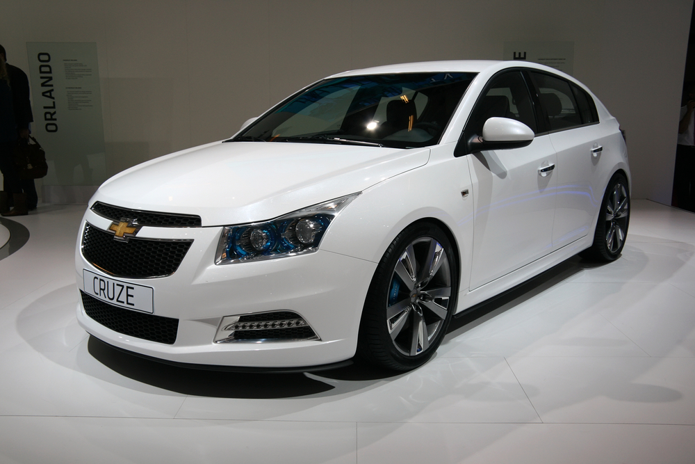 Chevrolet Cruze ($17,850 - $24,820)
