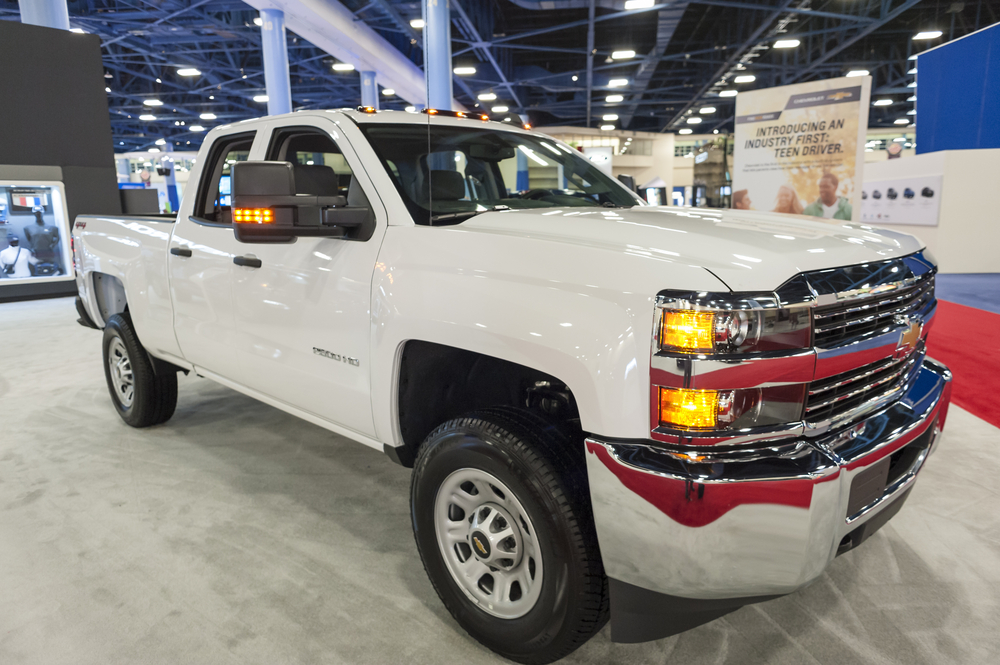 Pick the 2500 SilveradoHD from the Chevy Truck Lineup