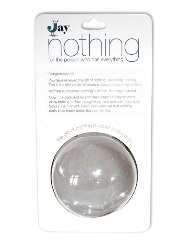 #1 Nothing