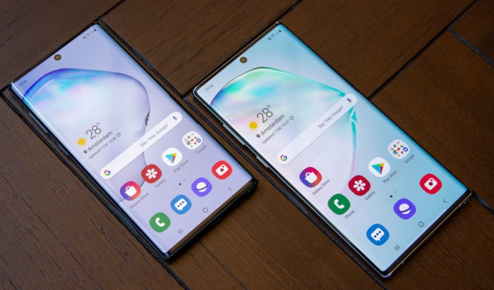note10 and note10plus