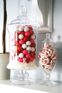 Decorate with Valentine's Day Treats