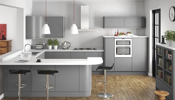 Handle-Less Kitchens