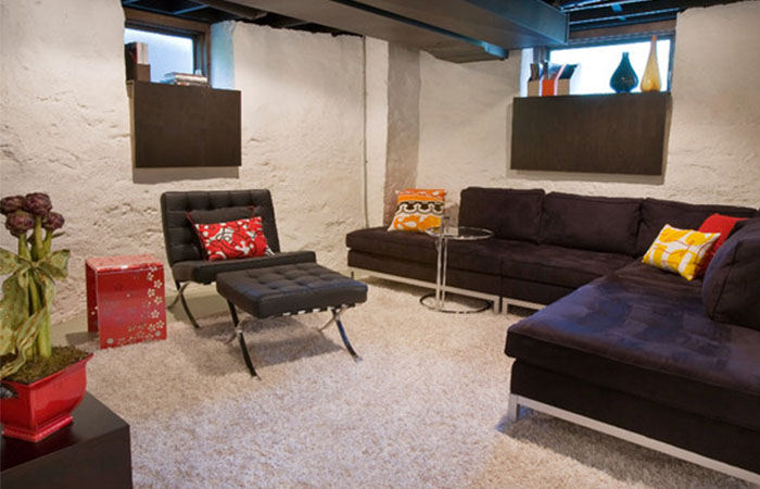 8 Finishing Touches For Your Unfinished Basement Reliable Remodeler