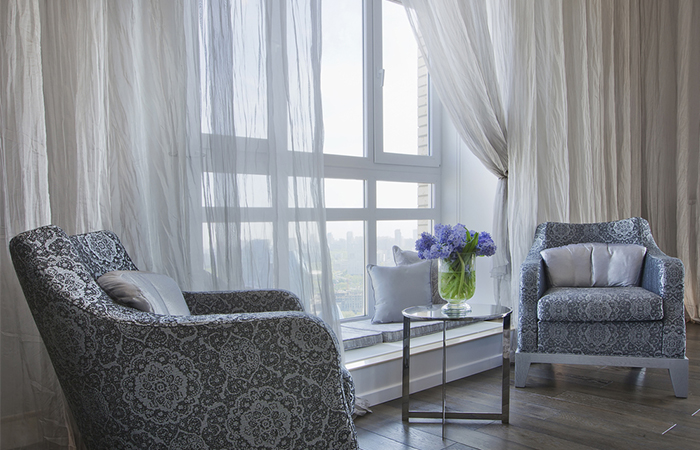 Forget About Heavy Drapes