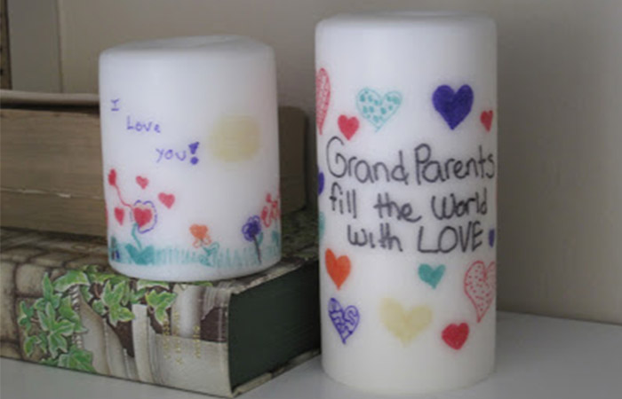 Personalized Candle