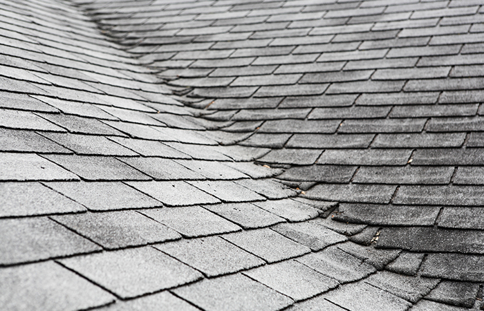 There are valleys in your roof