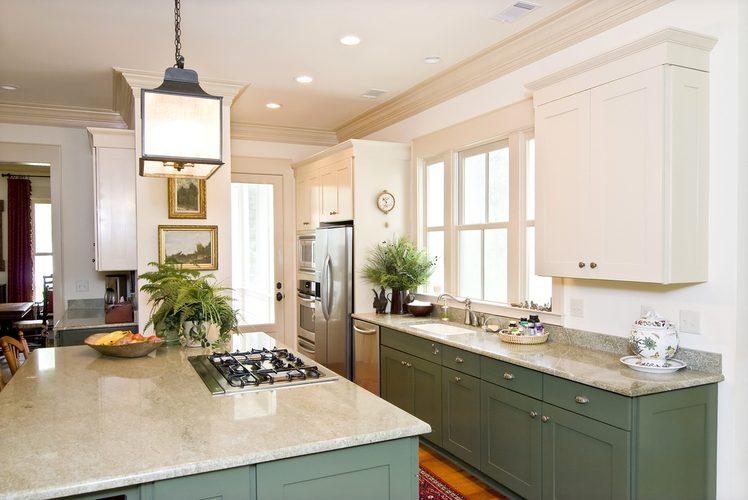 Crown molding-kitchen