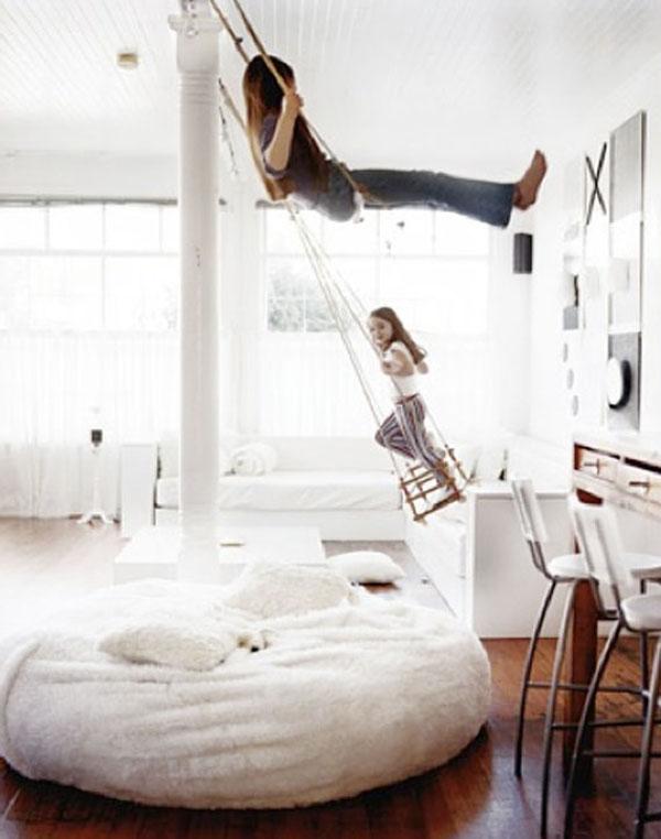 swing bedroom