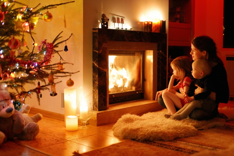 Install a fireplace