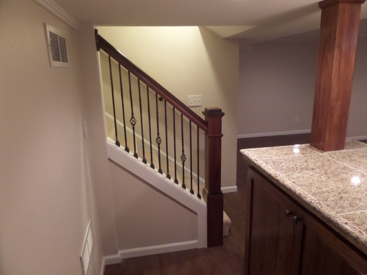 Install a new staircase