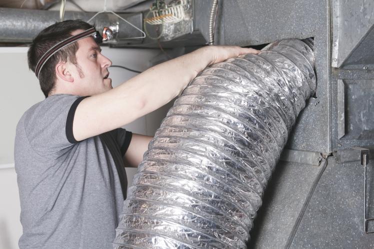Install ventilation