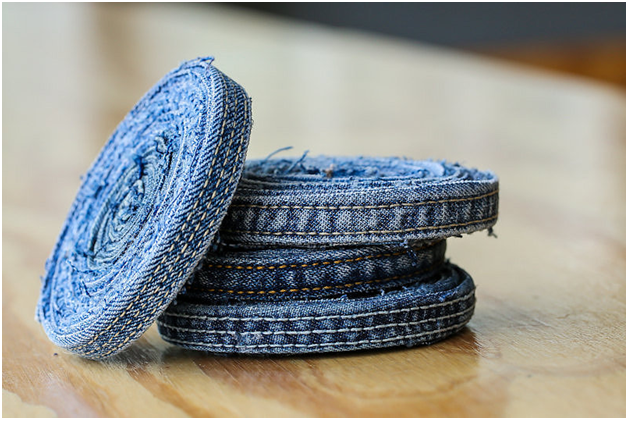 Create Denim Coasters