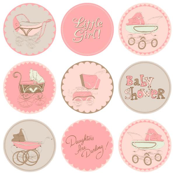 Baby Shower Card Art