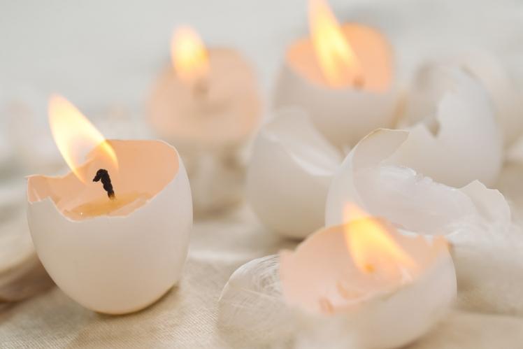 Dipped Egg Holders