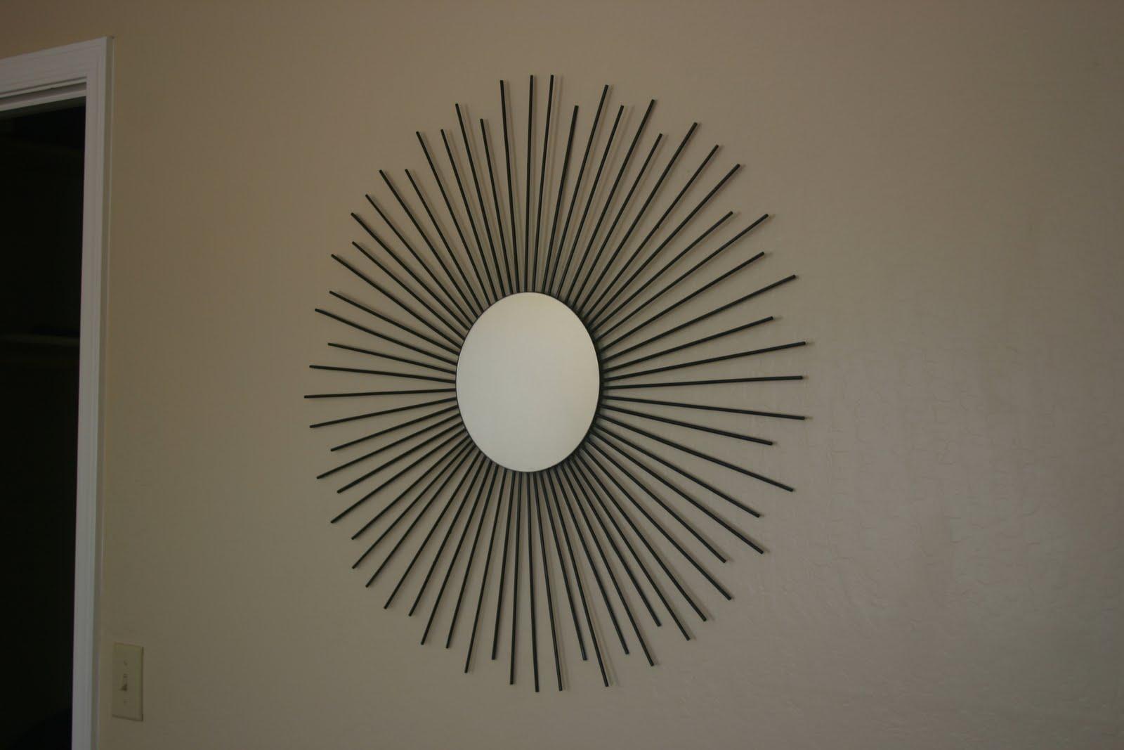 Sunburst Porch Mirror