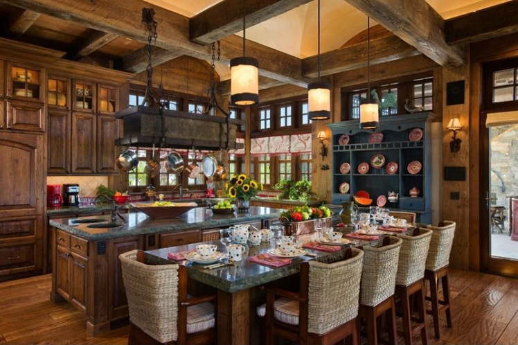 Wooden beams are a must