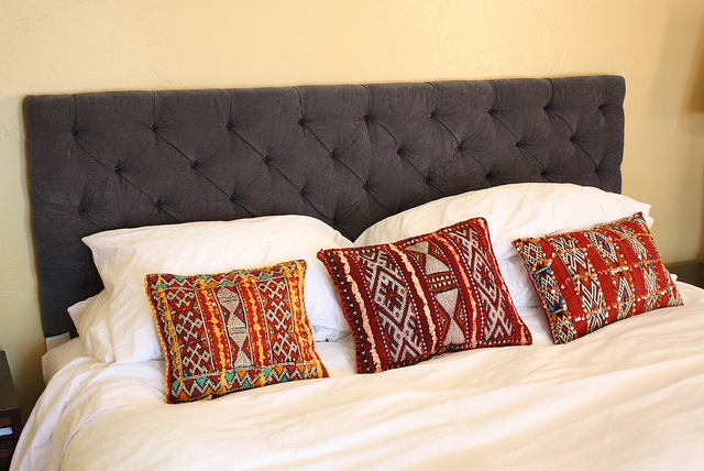 Button Tufted Headboard