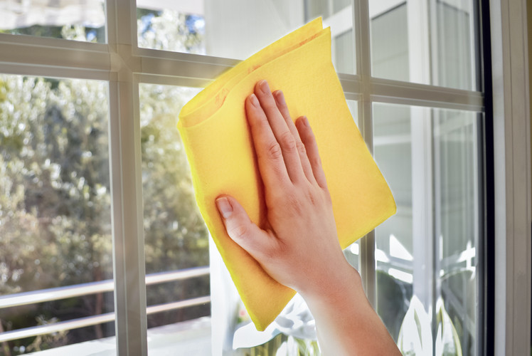Clean Windows and Dry clean Drapes