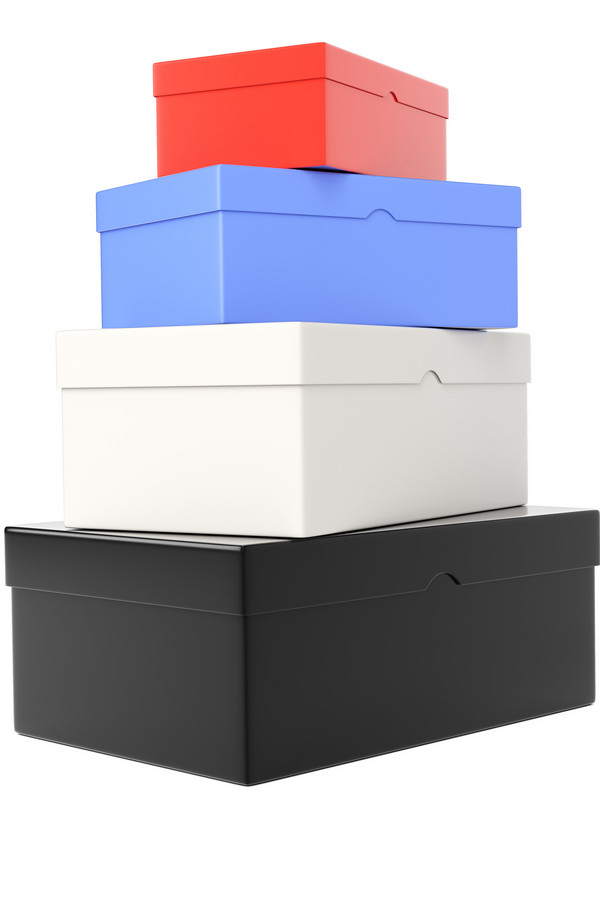 Stack shoe boxes