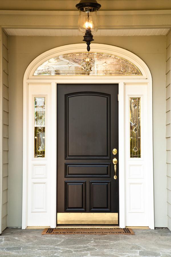 Clean the front door