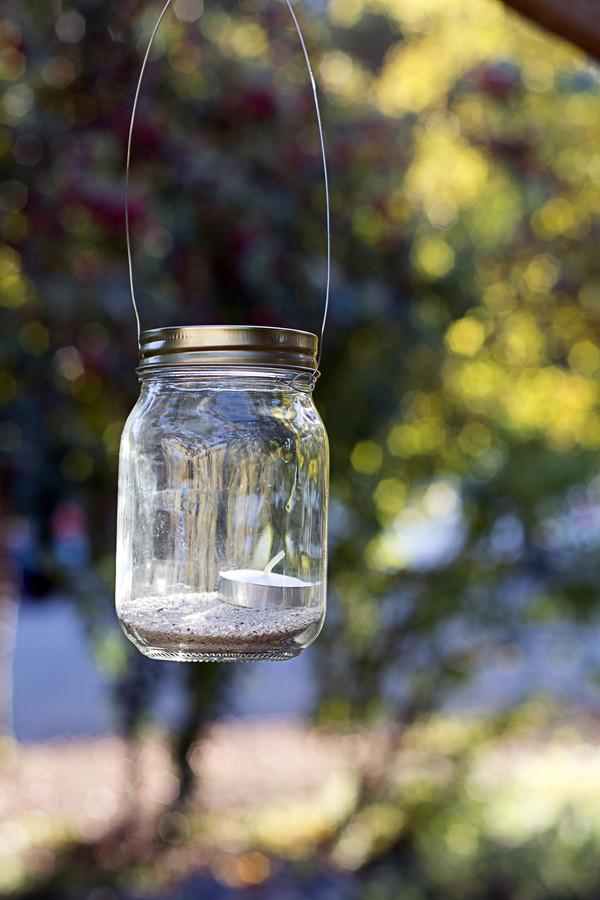 Hanging Railing Jars