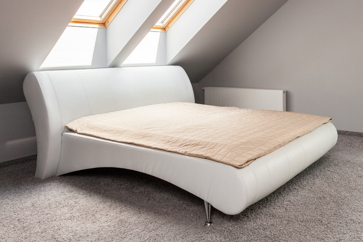 Install a skylight above your bed