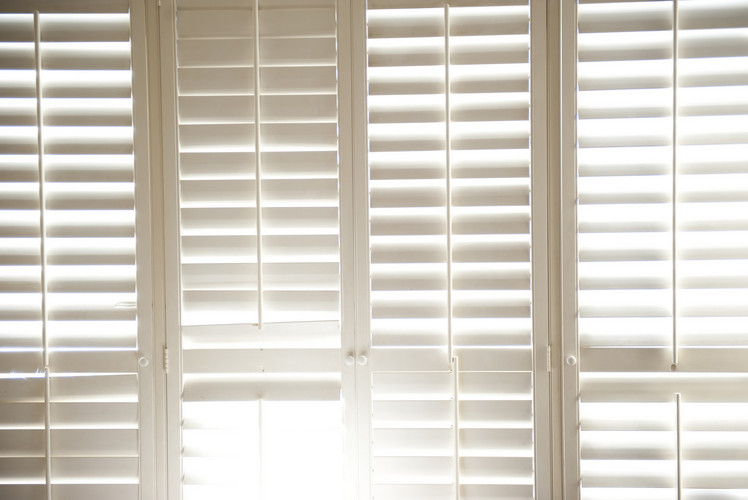 White Windows Shades