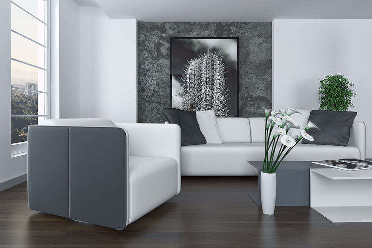Display art on a Feature Wall