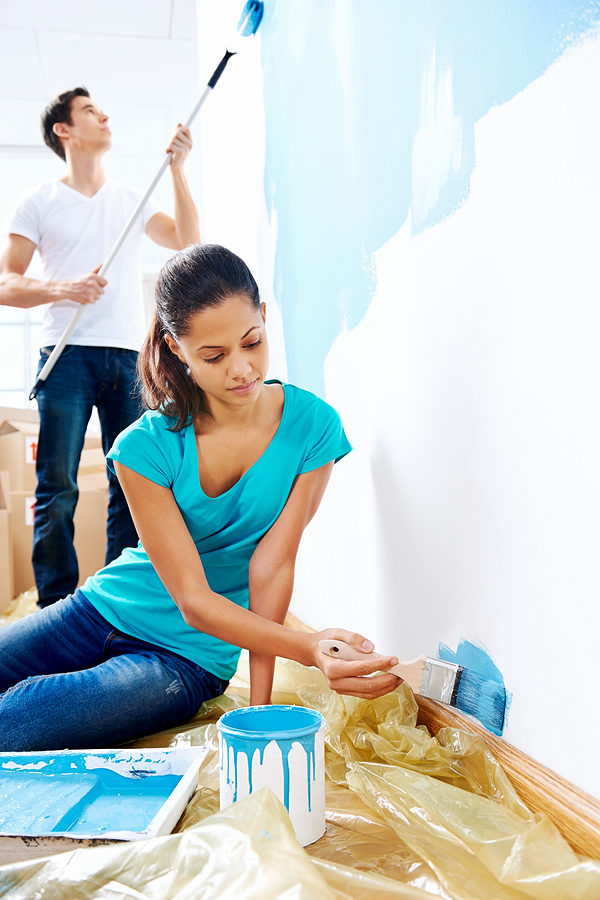 Give your home a paint job