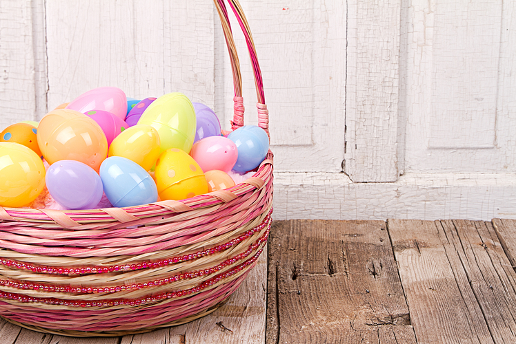 Old Easter Eggs