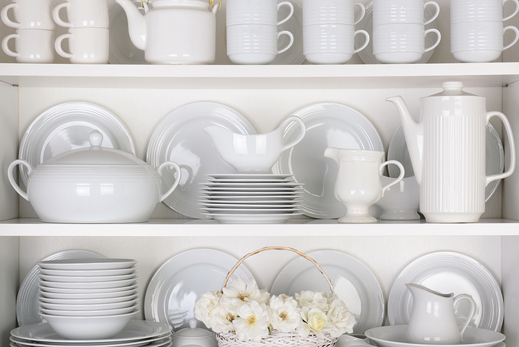 Purchase new dishes