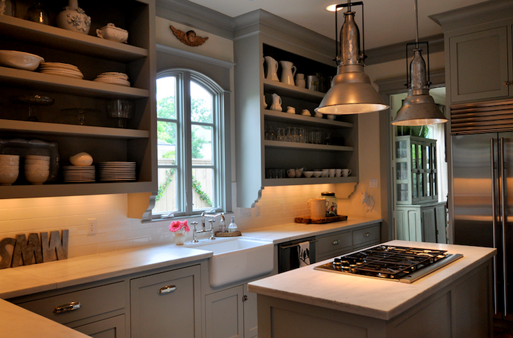 Remove your kitchen cabinet doors