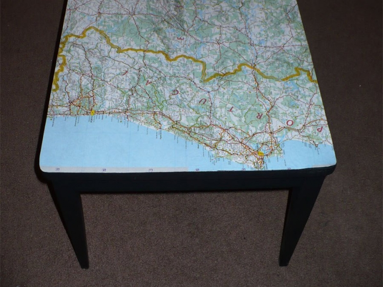 Transform an Old Table with Decoupage