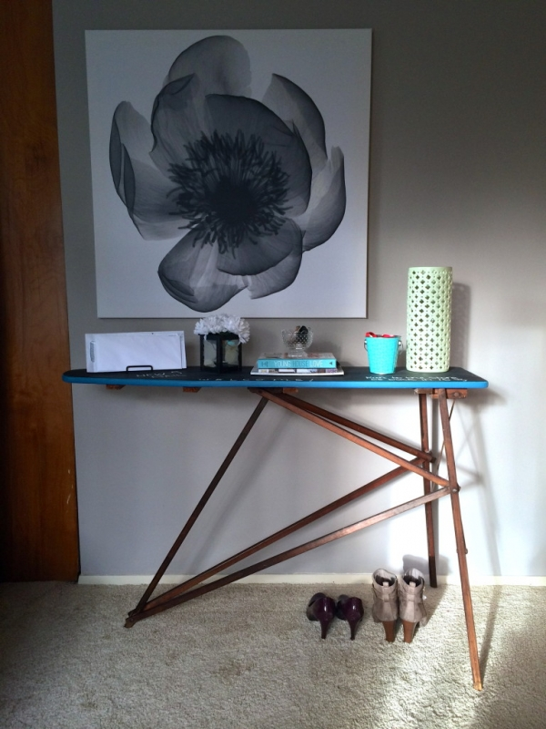 Turn an Old Ironing Board into a Table