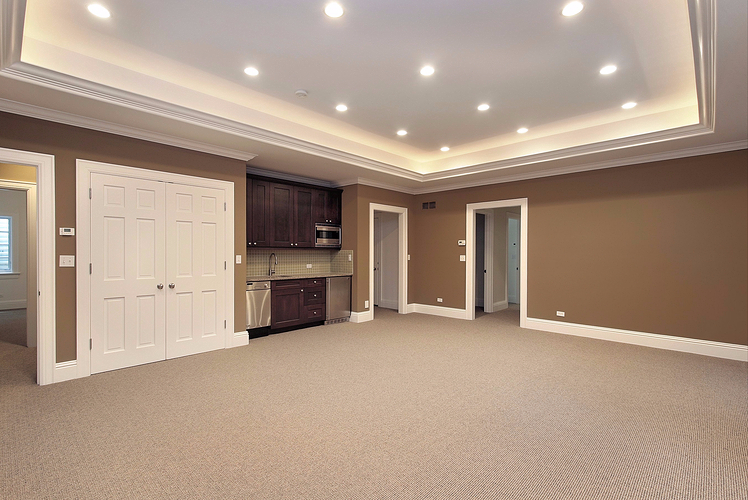 White Ceilings and window wells