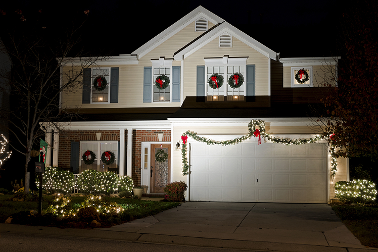 You've left your holiday decorations up throughout the year